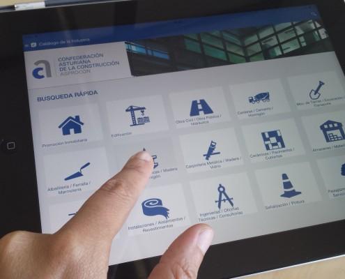 App catalogue Construction industry