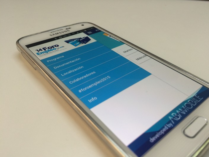 Aplicación móvil para el Foro de Empleo 2015