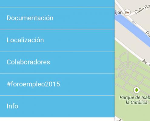 App Foro Empleo 2015