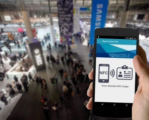 Escanear contactos con NFC Leads