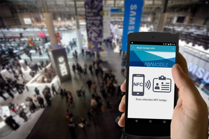 Escanear contactos con NFC Leads
