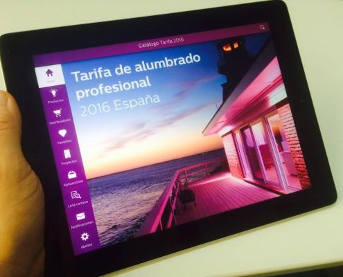 App Tarifa Digital - iPad
