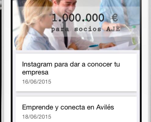 AJE Asturias Mobile App