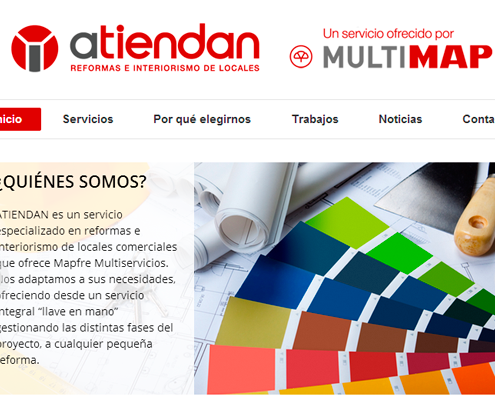 Web development Atiendan