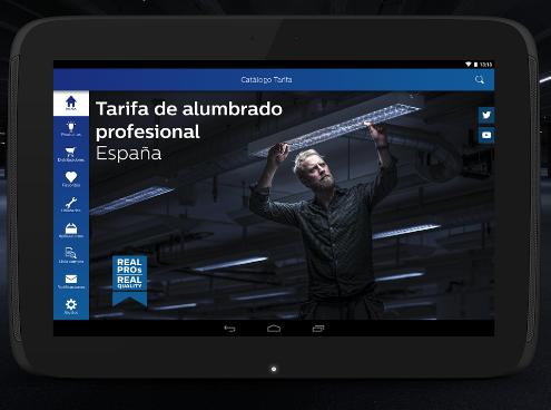 App tarifa de alumbrado profesional