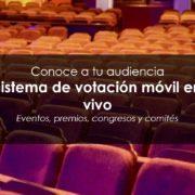 Sistema de votación en eventos y televoting