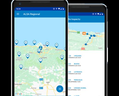 App transporte ALSA