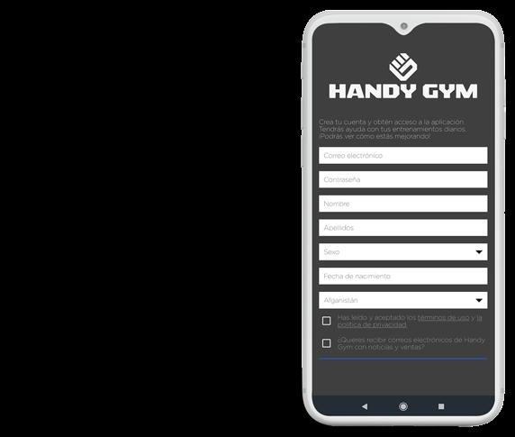 handygym app movil
